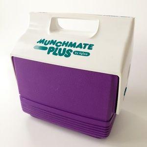 VTG Igloo Munchmate Plus Personal Cooler Purple